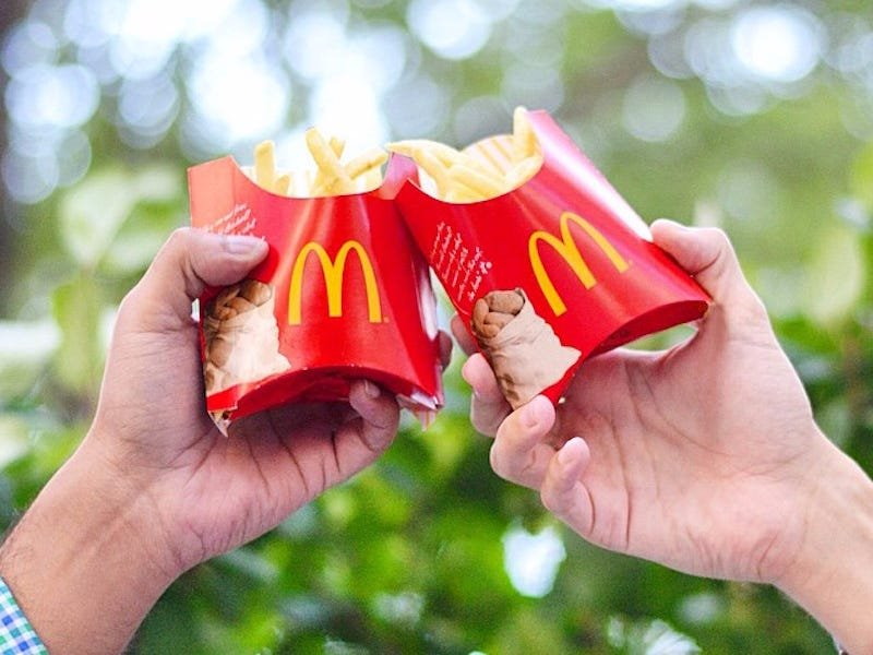 McDonald's- a taste at its own cost?