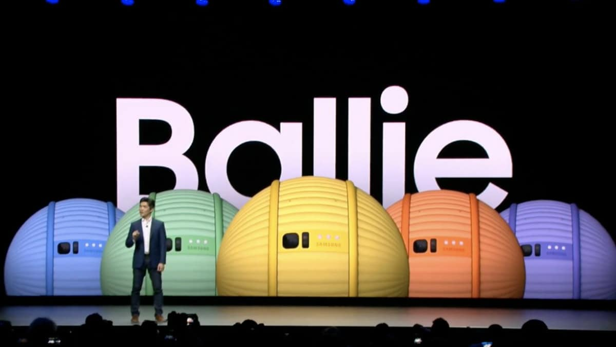 Samsung at CES 2020: Unveiling Ballie