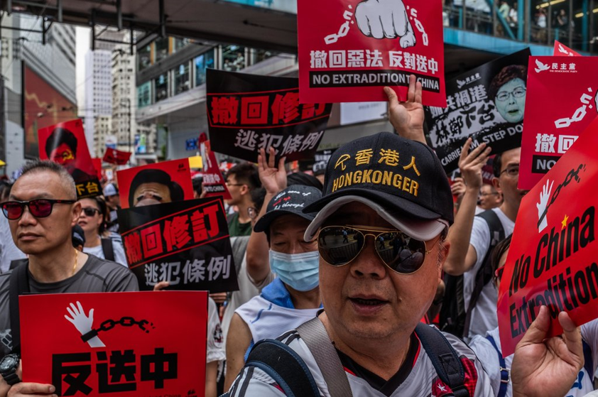 Hong Kong protesters and their claims