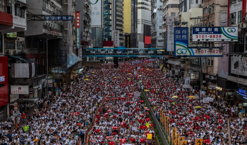 Massive outburst at Hong Kong as protesters ask for their claims