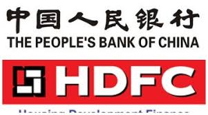 HDFC people's bank of china