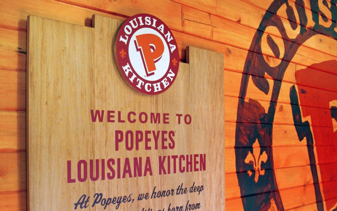 Popeyes defying the gravity of Covid-19