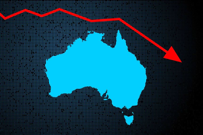 Australia's 29 recession-free years is coming to an end