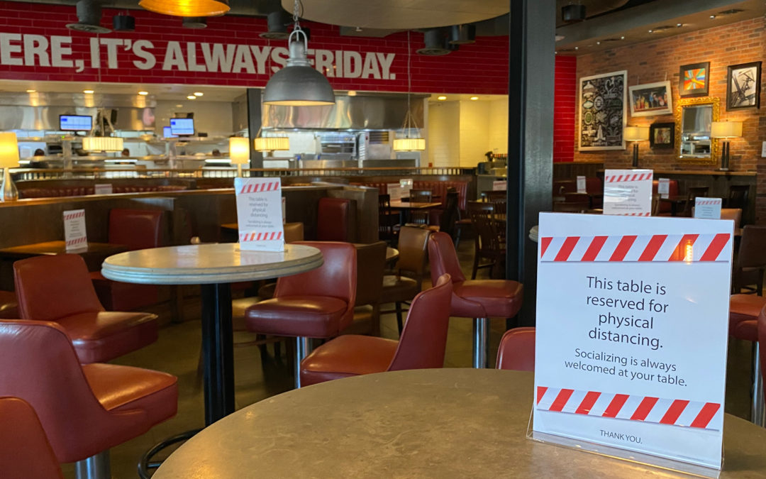 T.G.I. Friday's comeback strategy failed due to the pandemic.