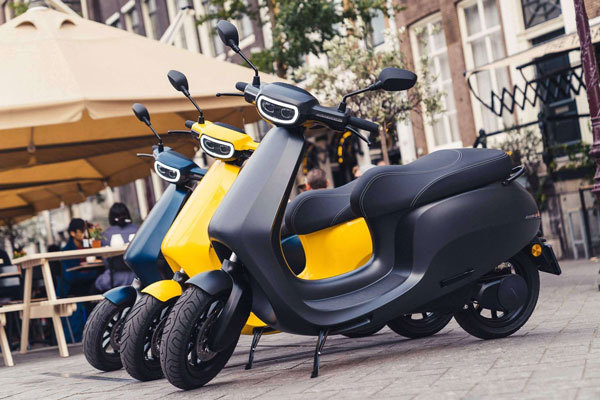 Dutch Technology Electric Motorcycle from Etergo