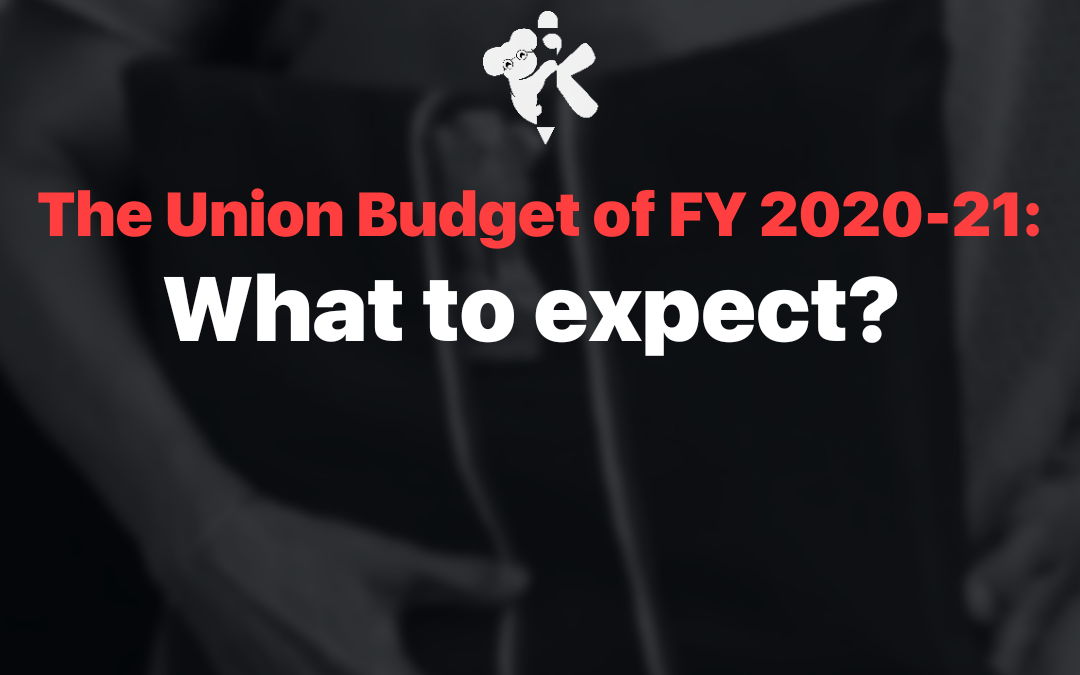 The Union Budget of FY 2021-22: What To Expect?